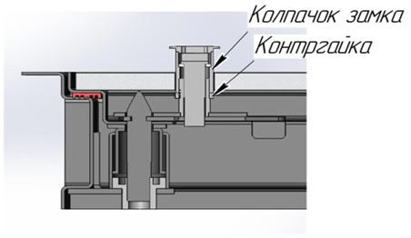 Напольный ревизионный люк модели «Бонд»